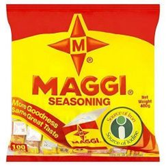 Maggi Seasoning Cubes (100 Cubes) 400g - Product of Nigeria