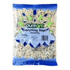 Puregro Everything Bagel Seasoning (7.7 oz) 220g