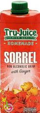 Tru-Juice Sorrel Non-Alcoholic Drink with Ginger 500ml