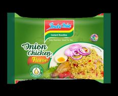Indomie Instant Noodles Onion Chicken Flavor 70g - Product of GHANA