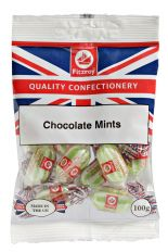 Fitzroy Chocolate Mints Sweets 100g
