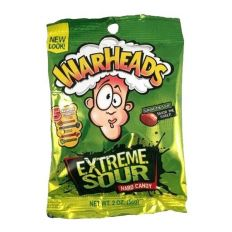 Warheads Extreme Sour Hard Candy 56g (2oz)