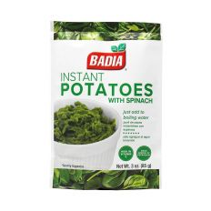 Badia Instant Potatoes with Spinach (3 oz) 85g