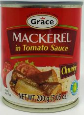 Grace Mackerel in Tomato Sauce 200g