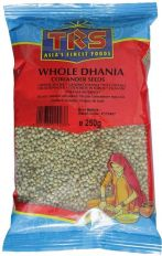 TRS Whole Dhania  (Coriander Seeds) 250g