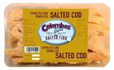 Colombos Cod Skinless & Boneless Salted Fish 250g
