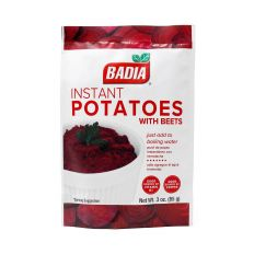 Badia Instant Potatoes with Beets (3 0z) 85g