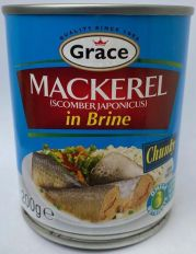 Grace Mackerel in Brine 200g