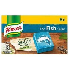 Knorr Fish Stock Cubes (8 Cubes X 10g) 80g