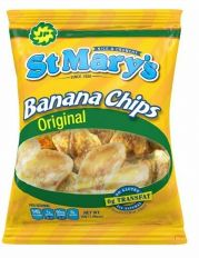 St Mary's Banana Chips 30g (Pack of 24)