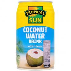 Tropical Sun Coconut Water Drink with Pieces 330ml