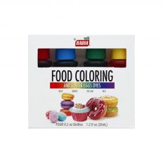 Badia Food Coloring And Easter Eggs Dyes (Blue, Green, Yellow & Red - Each Bottle Contains 0.3 oz) - Total 35ml (1.2 fl oz)