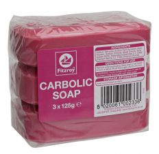 Fitzroy Carbolic Soap (3 X 125g)