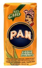Harina PAN Pre-Cooked Yellow Maize Meal - 1kg