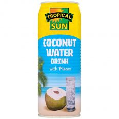 Tropical Sun Coconut Water Drink with Pieces 520ml