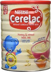 Nestle Cerelac Honey & Wheat with Milk (From 12 Months) 1kg
